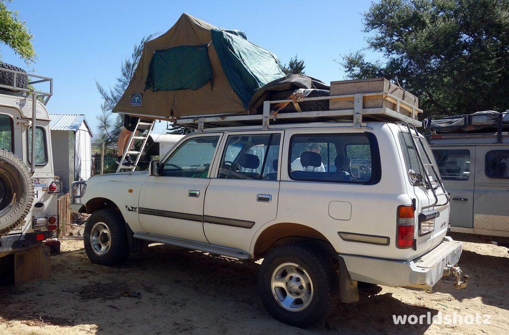 Unser Afrika-Auto
