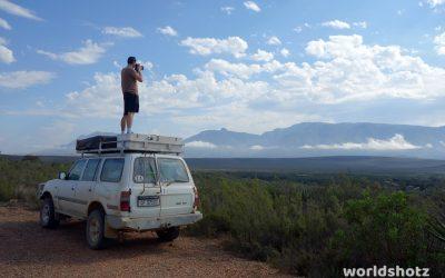 Die ersten 1000km & Beginn der Garden Route