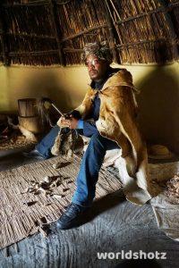 Medizinmann im Basotho Cultural Village
