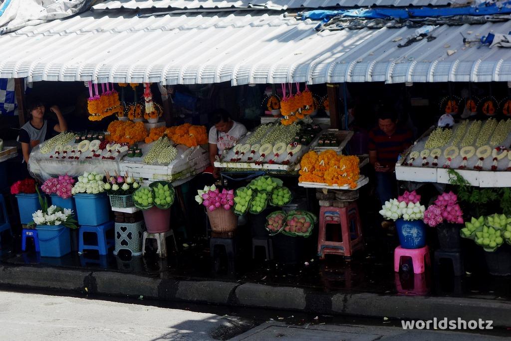 Ton Lam Yai Blumenmarkt