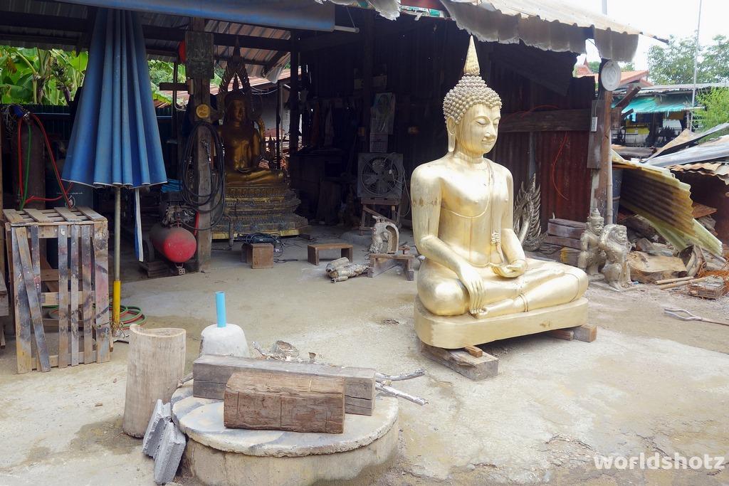 Buddha-Gießfabrik
