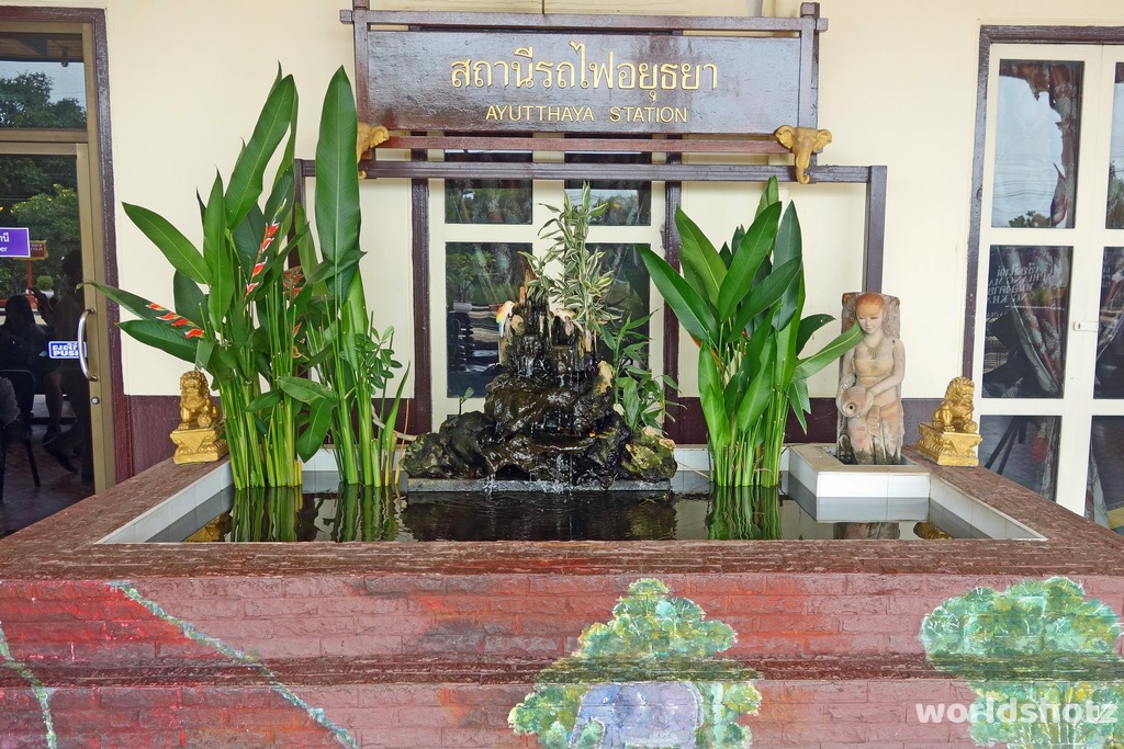 Bahnhof Ayutthaya
