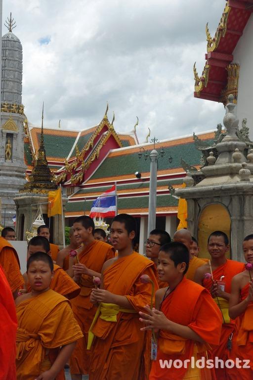 Wat Pho - Mönche