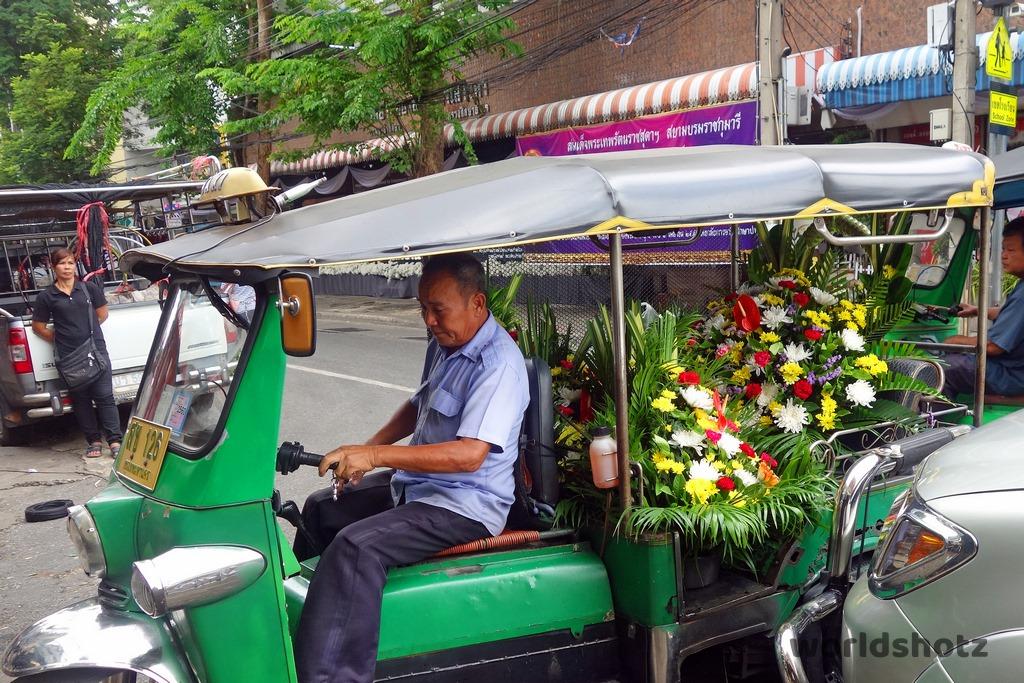 Pak Khlong Blumenmarkt