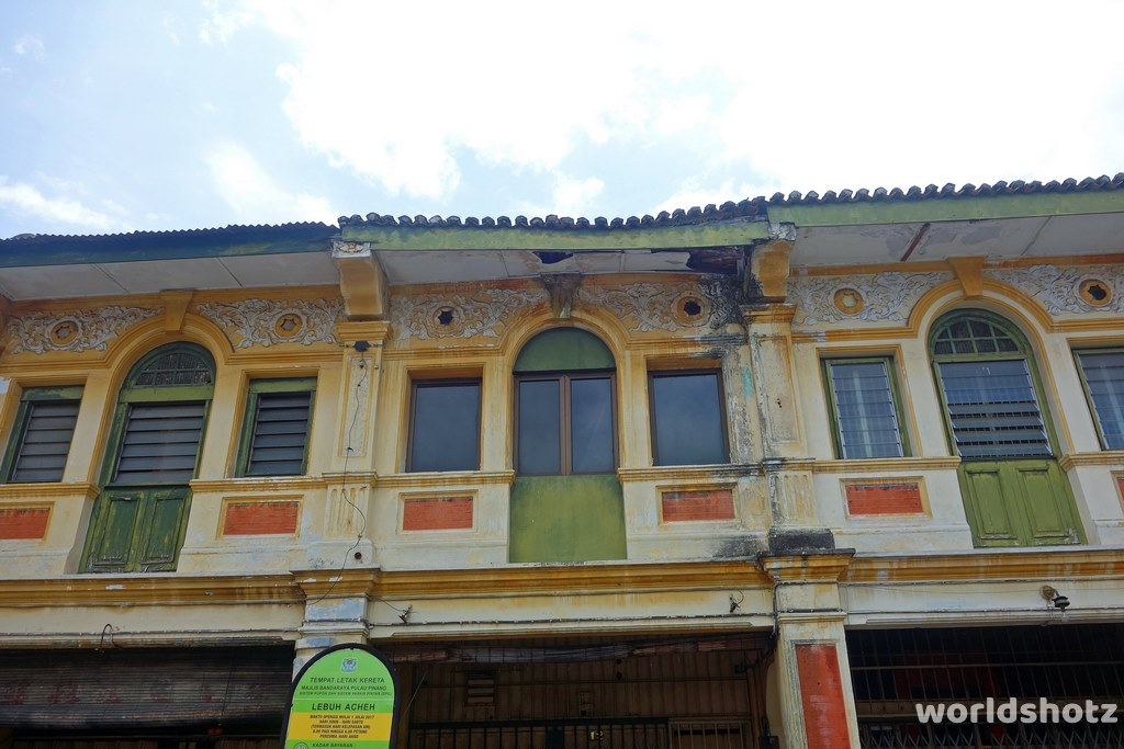 Chinatown shophouse