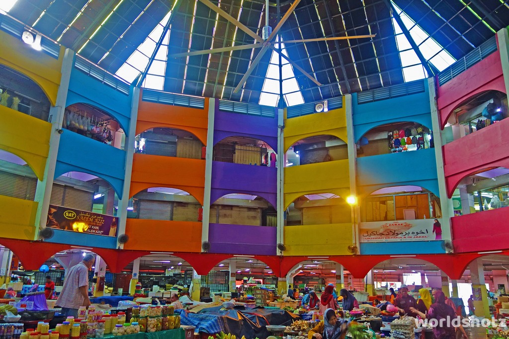 Kota Bharu Markt