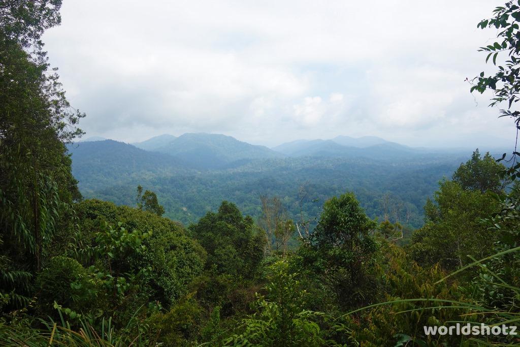 Blick vom Bukit Terisek