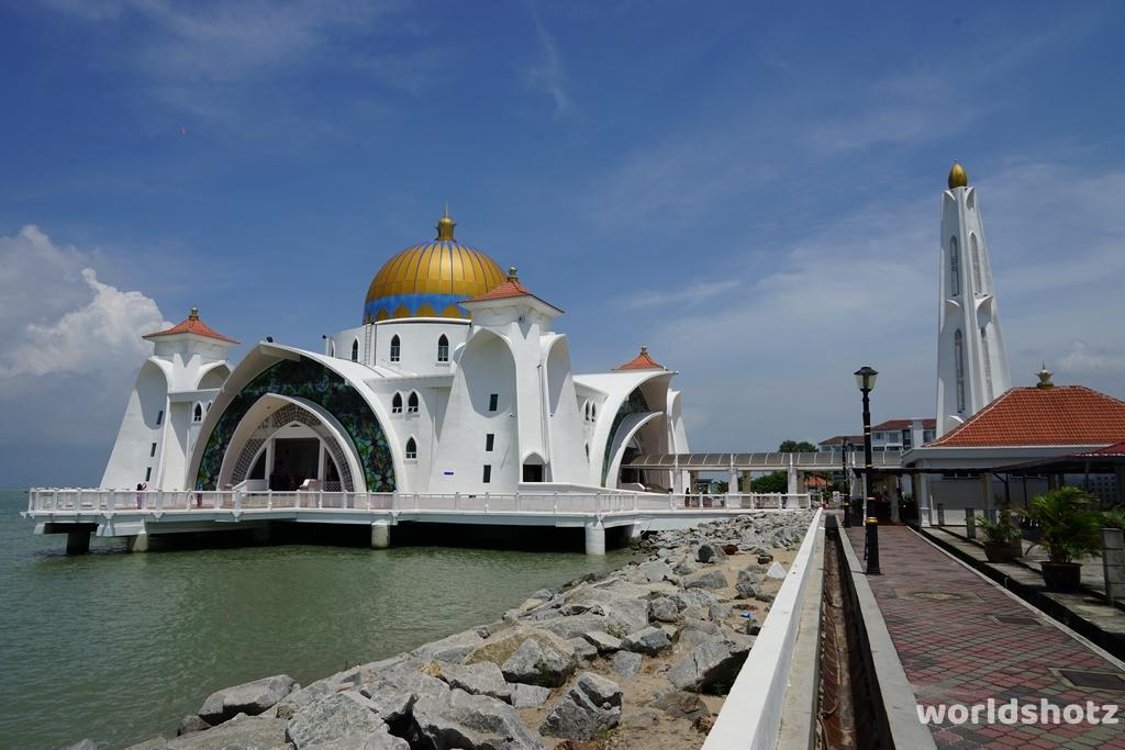 Moschee Straße von Malakka
